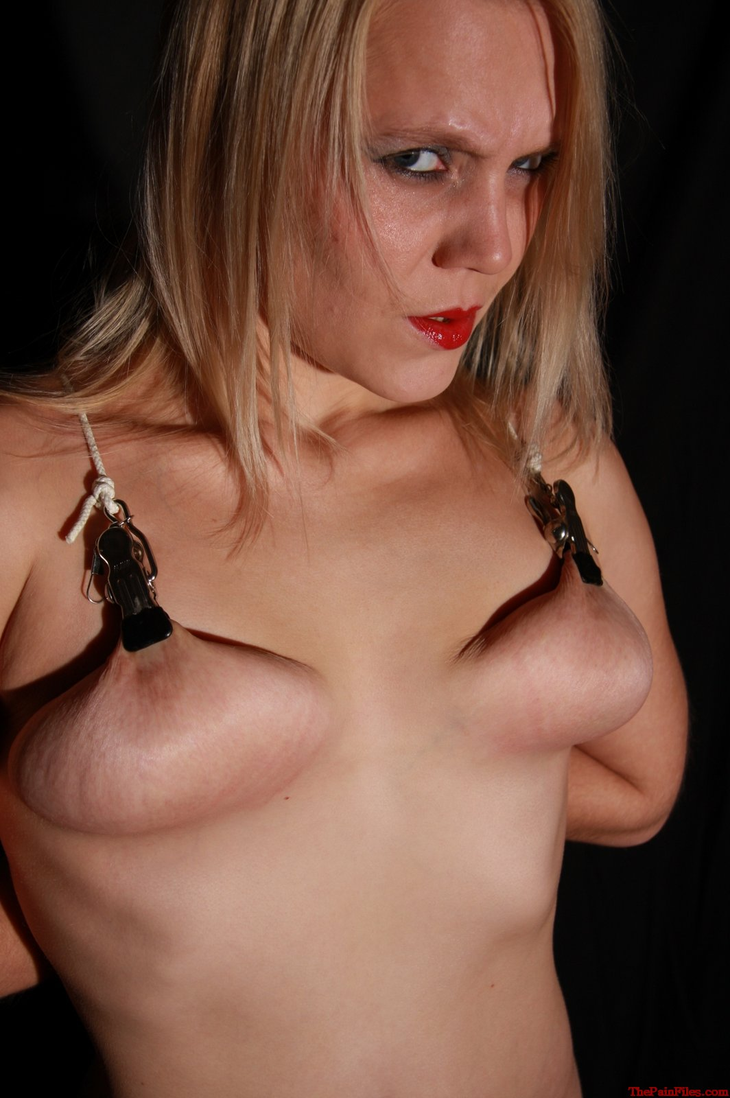 tit Nipple torture clamps